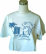 TEE-SHIRT ÎLES DE LÉRINS CANNES
