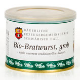 Echt Hällische Bio-Bratwurst, grob