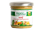Pfiffikuss Senf mit Bio Würze und Gemüsebrühe