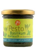 Pesto Basilikum mit Bärlauch