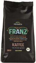 Herbaria Bio Franz Kaffee gemahlen, 250 g Pack