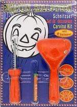 Halloween Kürbis-Schnitz-Set