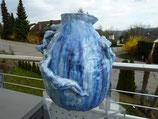 Vase Blue mit Körper 39cmx35cm