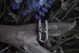 Ring 925 Silber sehr fein und hübsch mit Regenbogenmondstein