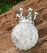 Anhänger Krone 925 Silber mit verschiedenen Edelsteinen