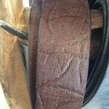 Ledergürtel 38mm Braun