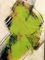Oel Bild  Green 1.20m x 1.40m