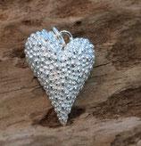 Herz mit 2 wunderschönen Seiten 925 Silber