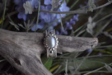 Ring 925 Silber mit echter Süsswasserperle