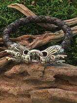 Drachenkopf Armband 925 Silber