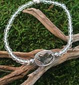 Edelstein Armband mit 925 Silber