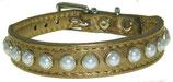 """Halsband """"Gold und Perlen"""""""