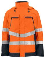 6440 Veste étanche noire/orange