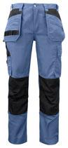 5531 Pantalon renforcé bleu contrasté noir