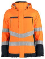 6441 Veste matelassée Classe 3 orange/noir