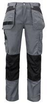 5531 Pantalon renforcé gris contrasté noir