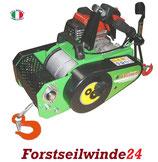 DOCMA VF 150 Automatic- Forstseilwinde, Seilwinde
