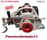 Spillwinde, Seilwinde, Forstwinde -VF105 RED IRON- DOCMA +100mSeil / +NEU 2017+