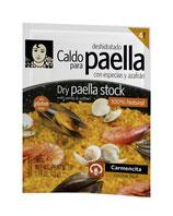 Caldo de Paella - Paella-Brühe mit Kräutern, Safran und Fischextrakten