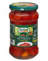 Pimiento del Piquillo con ajo