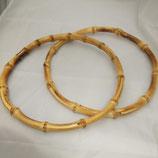 Manici In Bambù Cerchio 20 cm