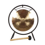 Gong Solaire 35 cm avec support