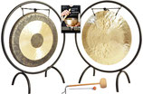 Ensemble Gong Lunaire et Solaire 65 cm