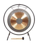 Gong lunaire 65 cm avec support