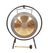 Gong lunaire 50 cm avec support