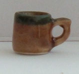 Brown Ceramic Stone Mug