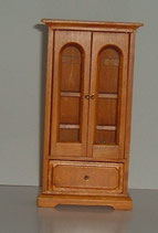 Pine Single Glazed Display Cabinet