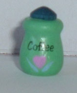Green Coffee Canister