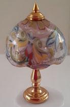 Reutter Porcelain Brass Lamp