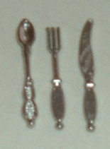 12pc Silver Cutlery Set