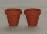 Pair of Terracotta Plant Pots