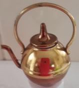 Large Retro Brass Metal Kettle
