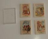 4 Miniature Nursery Rhyme Books