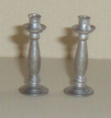 Pair Silver Candle Stick Holders