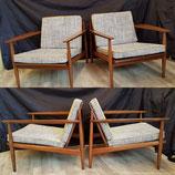 VENDU - Fauteuil design, années 50/60, attribué à Arne Vodder