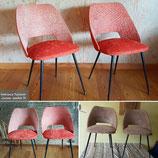 Paire de fauteuils vintages année 70