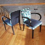 VENDU - Deux fauteuils bridges