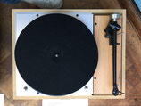 Thorens TD 150 + Rega RB 303 in Custom plinth