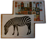 Reispapierdruck mit eigenem Motiv auf festem Papier DIN A4
