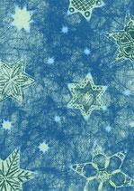 Vlies Blaue Sterne