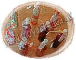 Design-Erdbeer-Wein