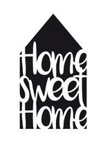 "Universal-Schablone ""Home Sweet Home"""