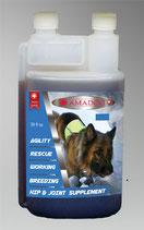 Ama Dog Sport 20-50kg mit Hyaluronic 1lt