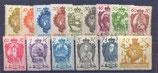 1920 Serie Wappenmuster **