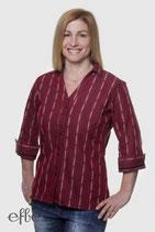 Edelweiss-Bluse COOL MAX für Damen, 3/4 Arm - rot
