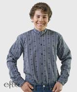 Edelweiss-Hemd für Kinder - anthrazit